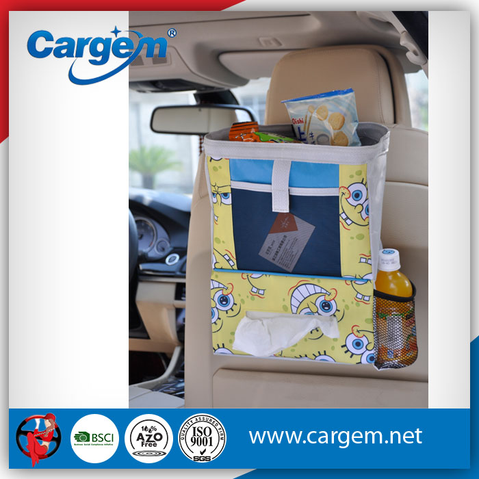 CARGEM Auto Accessories Car Organizer Back Seat With Napkin Box