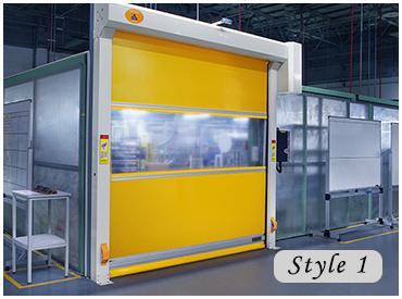China Suppliers PVC High Speed Shutter Door Electric Fast Door & China Suppliers Pvc High Speed Shutter Door Electric Fast Door - Buy ...