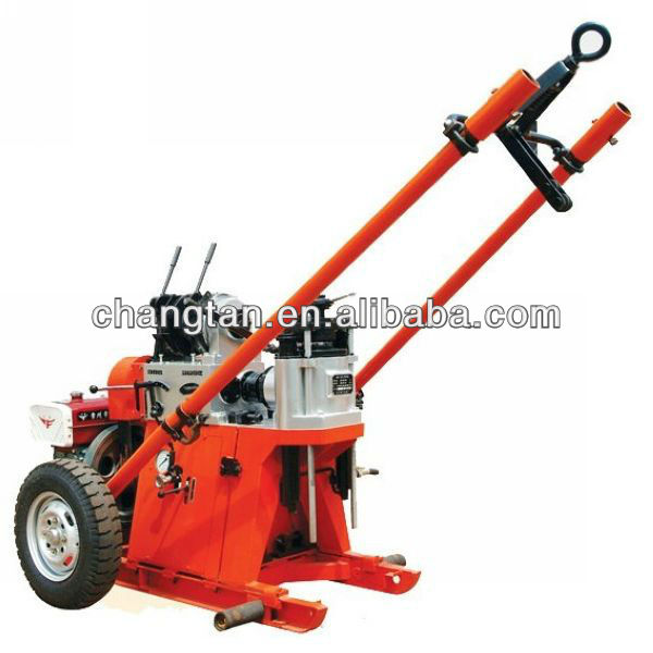 GY-100 trailer mounted portable water well drilling rig