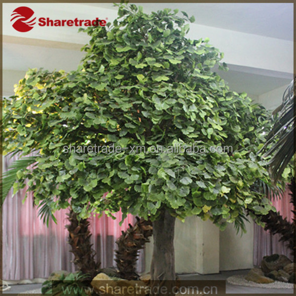 2015 Best Seller Hot Promotion Window Display Props Fake Artifical Decorative Plant Tree