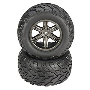 BephaMart 9115 2.4GHz Car Spare Parts Tyres With Sponge 15-ZJ01