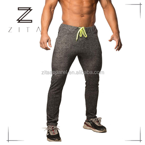 Mens Sportswear Apparel Tapered Elastic Waistband Gym Joggers Pants Wholesale Sweat Pants Plain Joggers