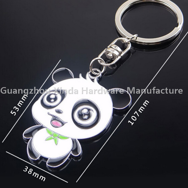 Promotionele Mini Panda Beer Sleutelhanger Met Logomini Panda Beer