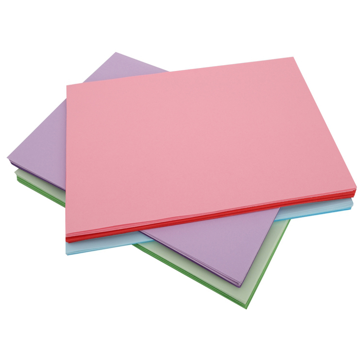 China manufacturer 80 gsm coloful woodfree paper made in China