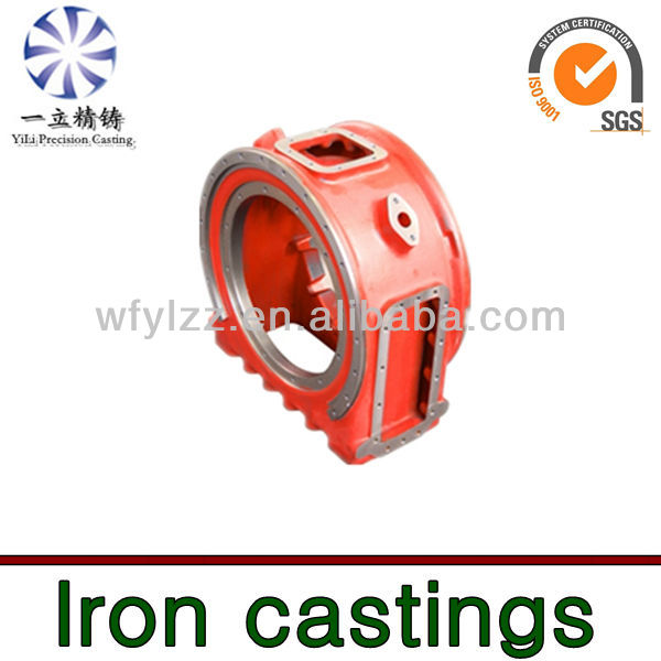 Cast iron Sand casting used for jet boat