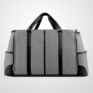 Duffel - BLACK & GREY Luggage Laptop Bag fits Apple MacBook Air 13' & 11' inch