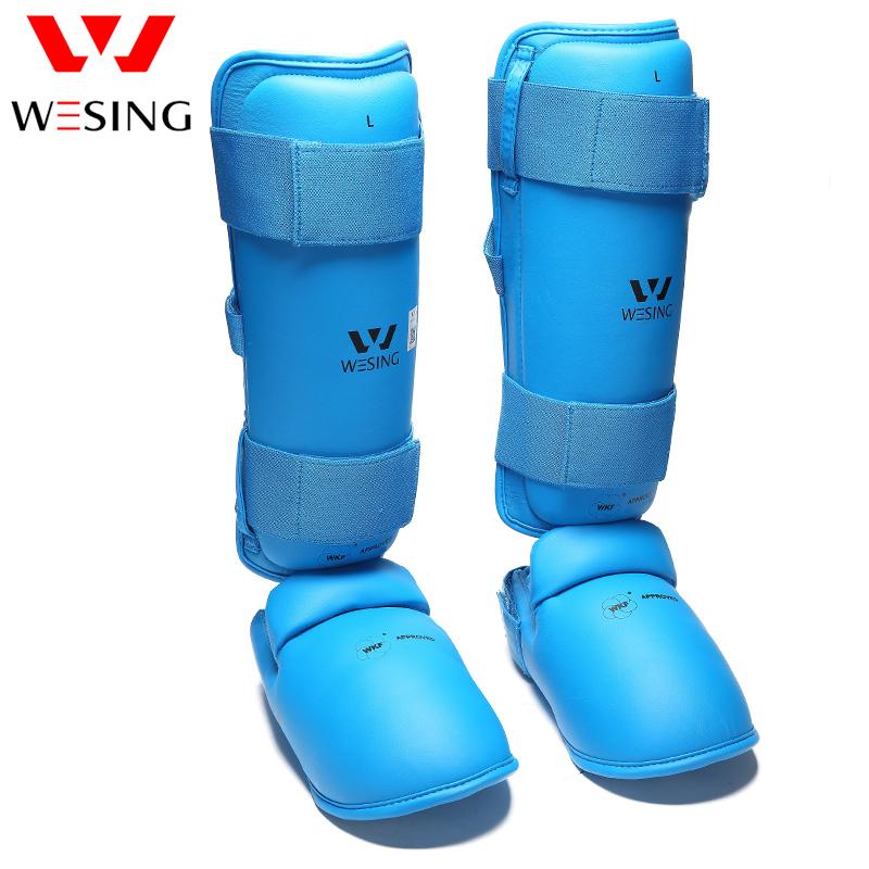 Karate Shin In Step Foot Guard Protector