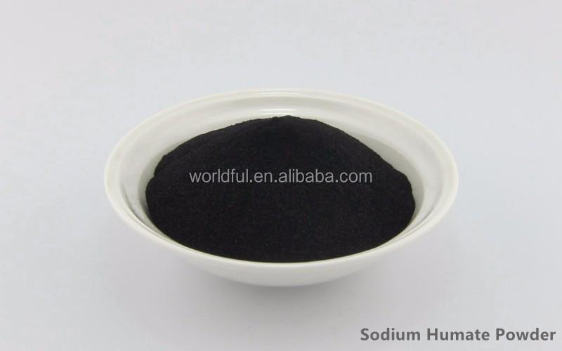 Soil Conditioner 95% WS SODIUM HUMATE SHINY FLAKE / POWDER
