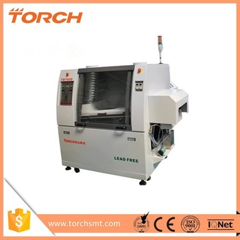 TORCH suitalbe price small wave soldering TB780D with CE&ISO certification