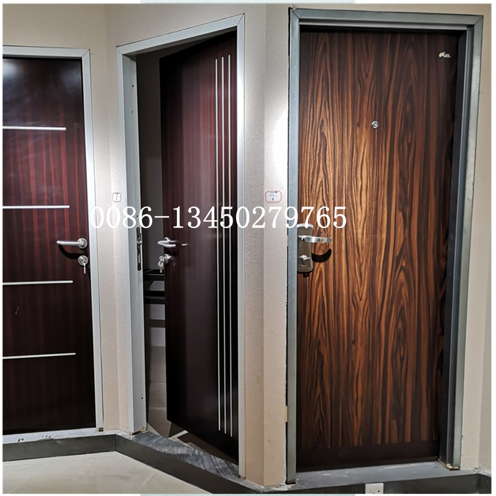 high quality Israel doors, with multi lock, China factory