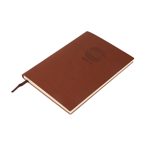 Best selling leather refillable 5x7 journal notebook custom with logo