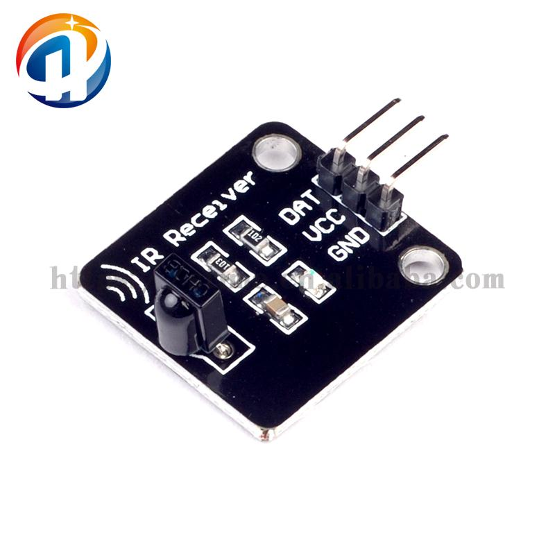 Electronic Building Blocks of Digital 38KHz infrared Receiver Module Receives the Sensor Head Robot