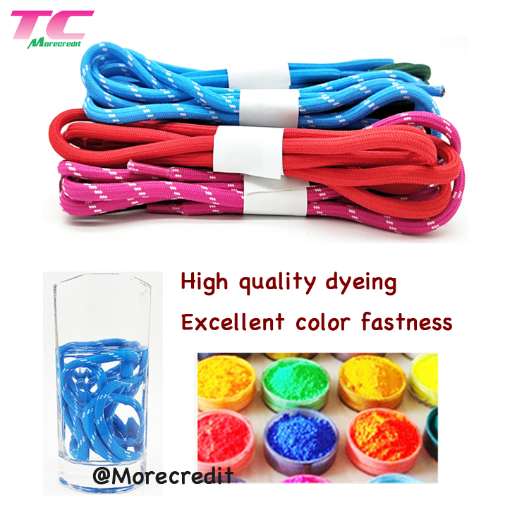 Morecredit Night Reflective Stretch Laces For Sports Shoes Wholesale Elastic String No Tie Shoe Laces
