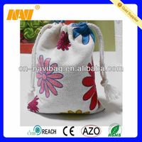 high quality recycle linen lavender bag(NV-J069)
