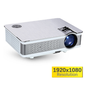 Family use USB VGA SD port video Full HD cartoon projector for children