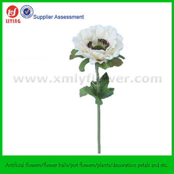 Single flower silk anemone buy silk anemonewhite anemones single flower silk anemone mightylinksfo