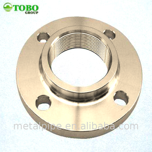"Monel 30C titanium flange nut 3"" pipe flange 3000lbs steel Threaded forged flange"