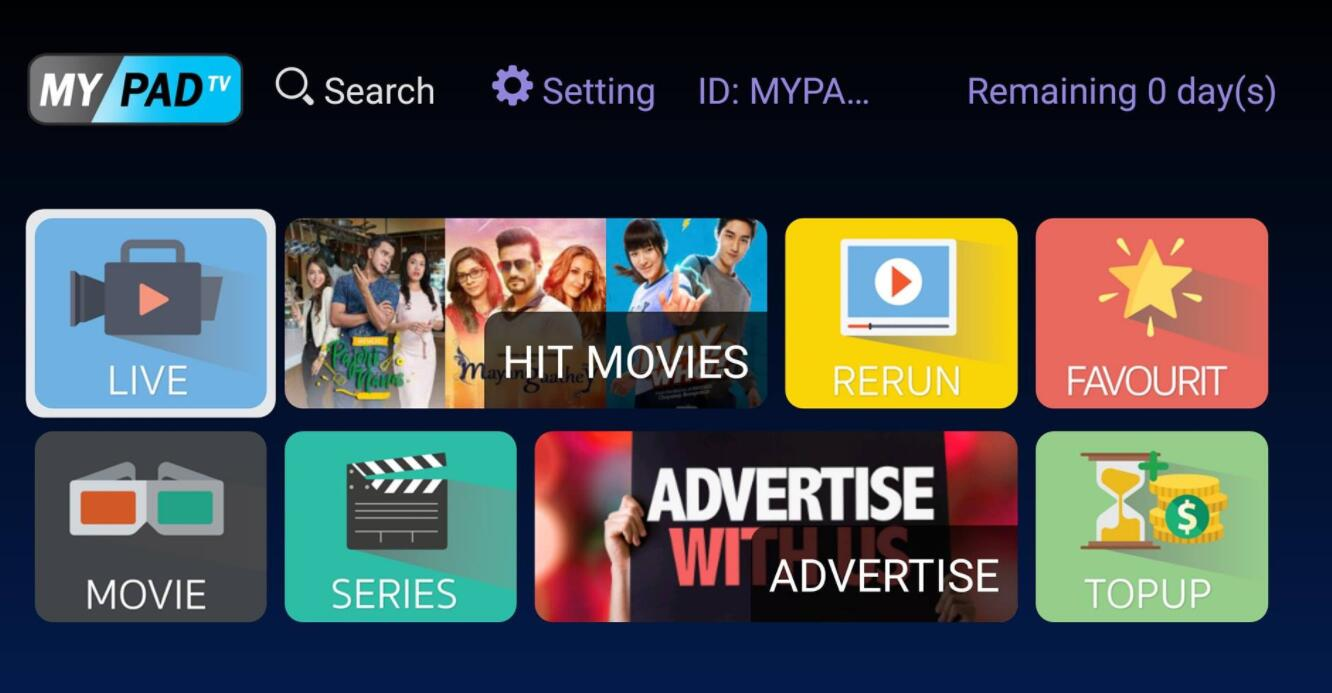 MYIPTV Subscription for 1 year 6 Month 3 Month 1 Month Singapore