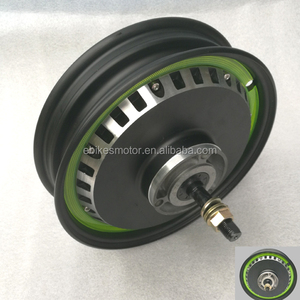 10inch DC electric wheel hub motor in wheel for sale/ fat whole wheel electric bike kits