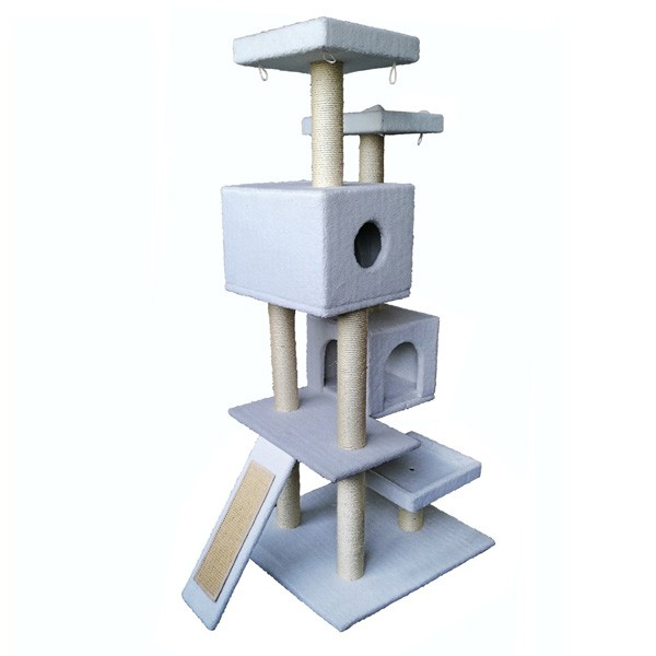 Oem Tower Condo Furniture Scratch Post Perch China Cat Tree Cat Scratcher Cardboard Buy Cat