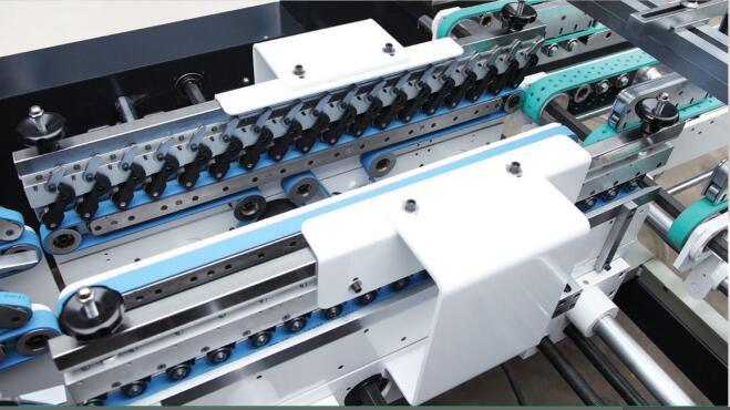 GK-1200AC Automatische Papier Voedsel Kartonnen Papier Doos Making Machine Prijzen