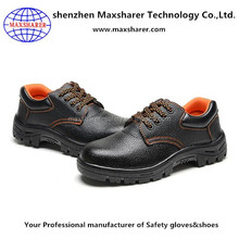 high quality anti puncture steel toe work shoes men