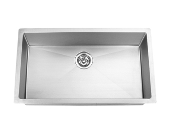 304 Stainless Steel Single Bowl Kitchen Sink 810mmx450mm For ...