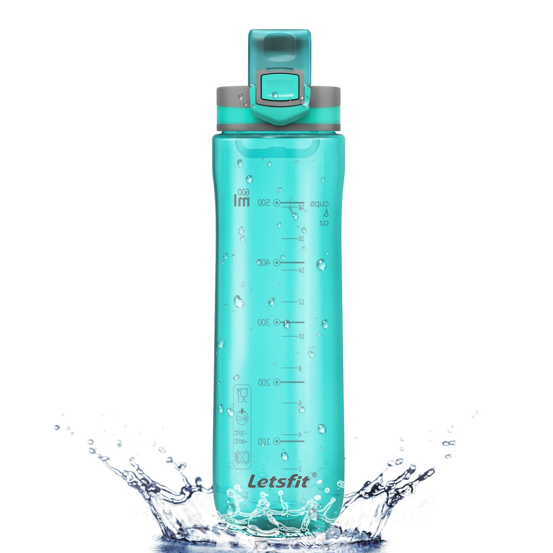 d3ac36010a Get Quotations · Letsfit Water Bottle, Sports Water Bottle, Tritan 100% BPA  Free Non-Toxic