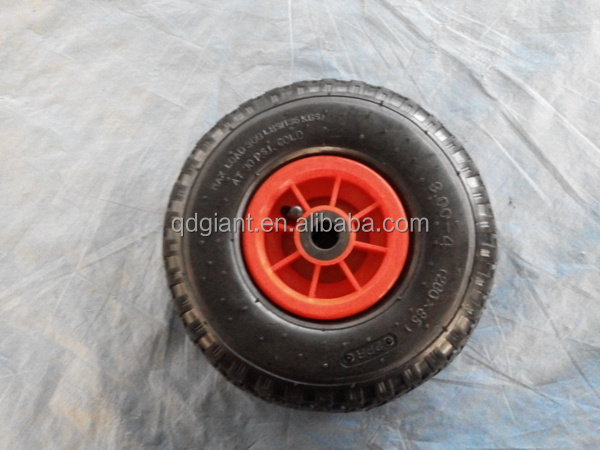 small rubber 300-4 wagon wheel