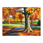 Full Drill Changing colors in autumn Embroidery Cross Stitch Arts Craft Canvas Wall Decor forest diamond painting