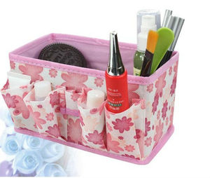 Folding Make Up Cosmetic Storage Box Container Bag Case