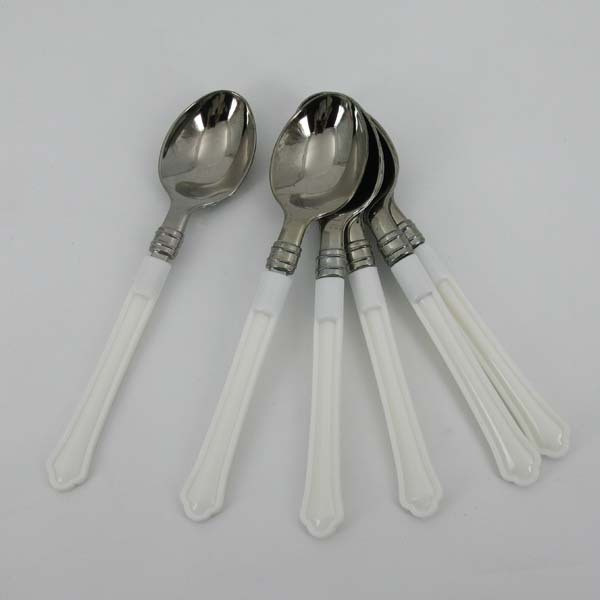 Silver Plated Spoon with Plastic Handle