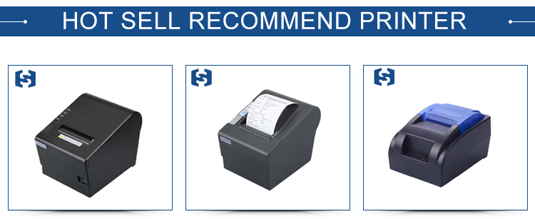 ISO Certificate cheap thermal Label Barcode Printer 58mm