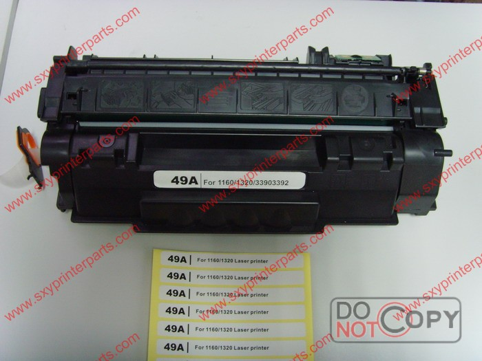 High quality factory price toner cartridge for HP Q5949A toner factory