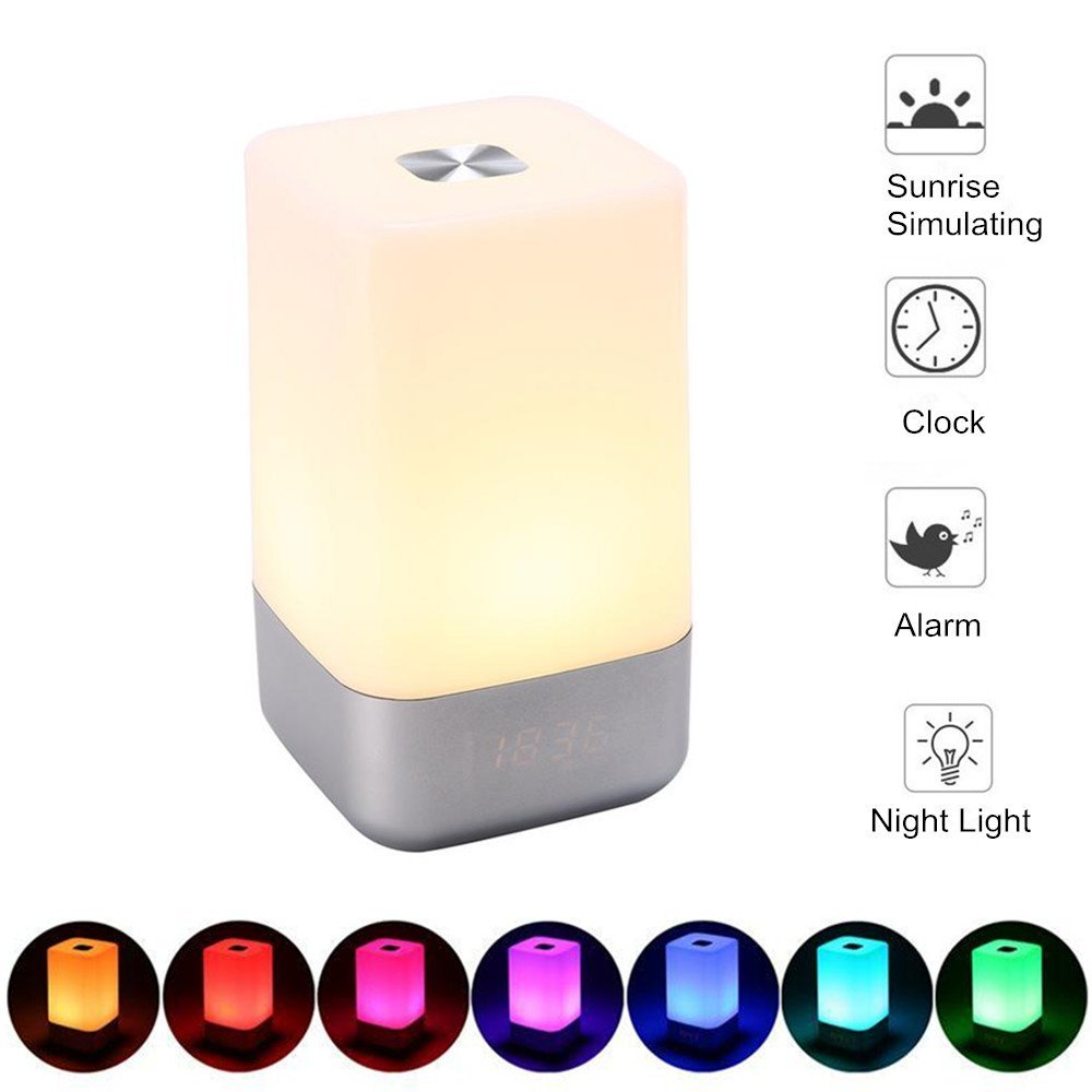 Cheap Night Light Alarm Clock For Kids Find Lamp With Get Quotations Leagway Wake Up Led Bedside Sunrise Simulation 5 Natural Sounds