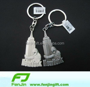 promotional New York Empire State Building souvenir keychain