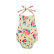 Großhandel Infant Mädchen Fotografie Floral Baby <span class=keywords><strong>Body</strong></span> Backless Overall Babyspielanzug Set
