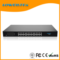Mini Full-Duplex + Half-Duplex managed Gagibit ethernet switch networking switch 24 port router switch