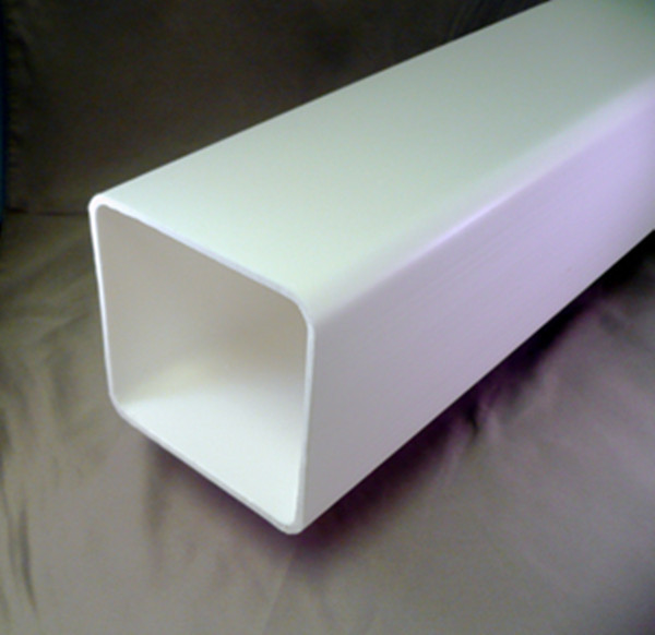 Oem rectangular conduit white plastic tube buy