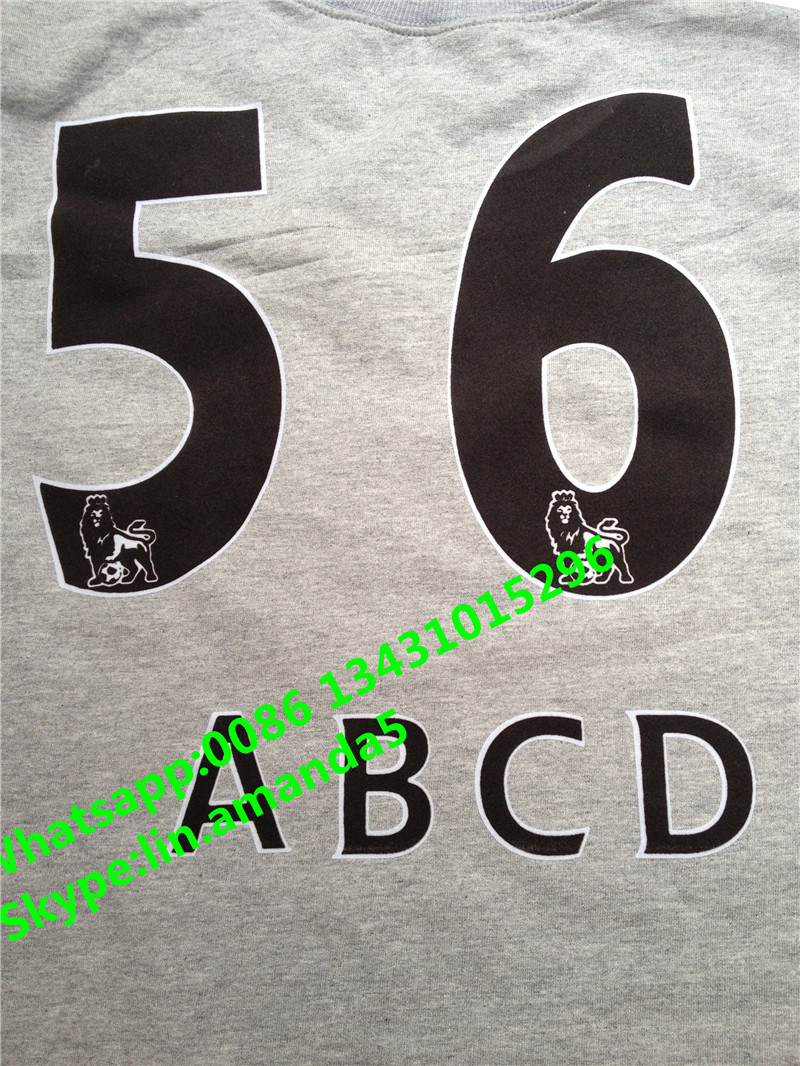 soccer jersey name set numbers and letters fabric heat transfer