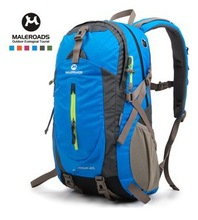 Free shipping travel bag sport backpack waterproof outdoor climbing mountaineering hiking camping school backpack women&men 40L
