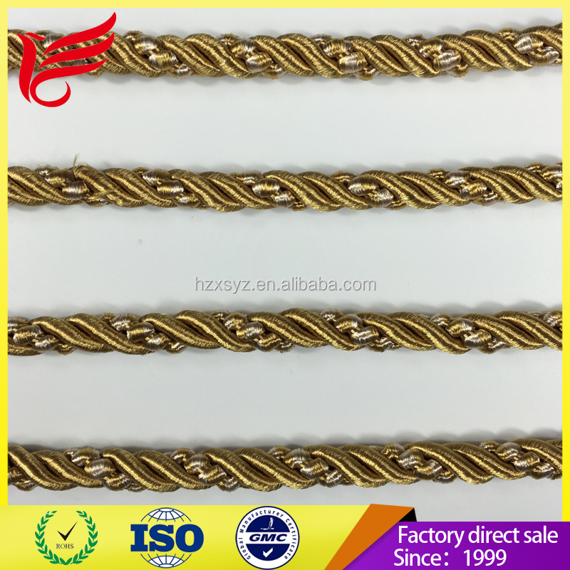 2017 Goodsale lip cord used for hometextile cushion