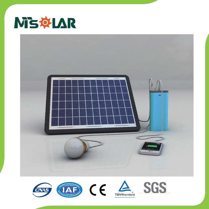 Small Mini Rechargeable LED Home Lighting Solar Power System DC Solar Energy System
