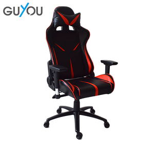 GUYOU Wholesale Best Modern Swivel Sport Computer Gamming Chair With Neck Pillow And Waist Pillow