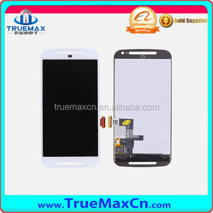 100% Original LCD Touch Screen for Motorola Moto G 2nd Gen XT1063, Black & White