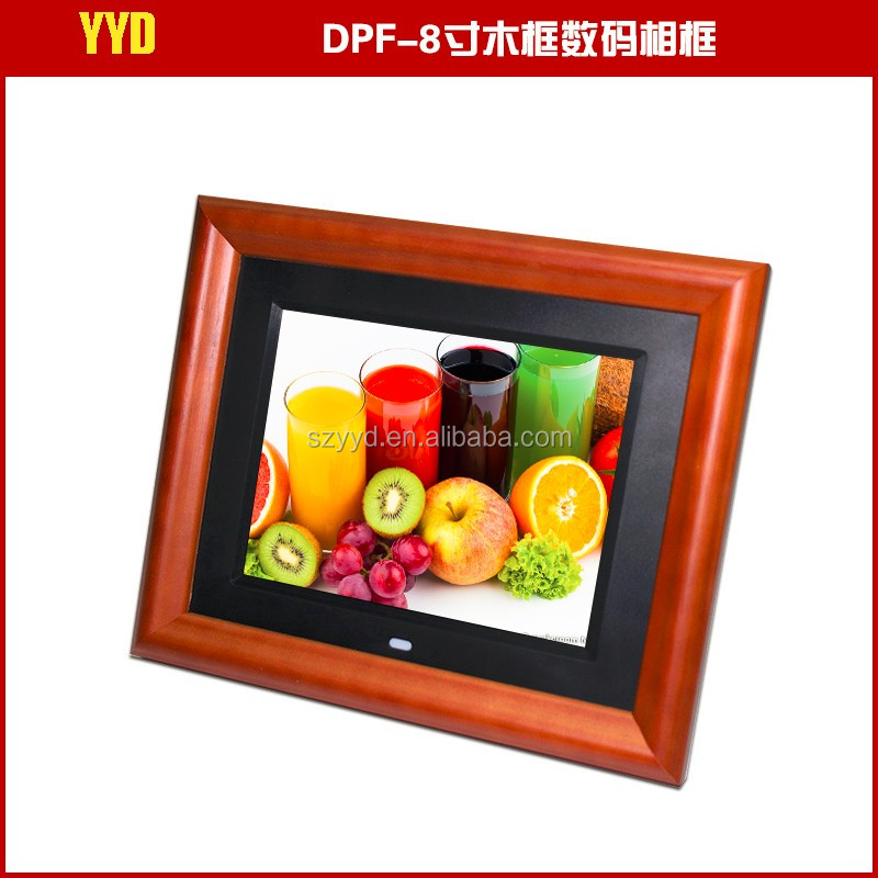 Photo Frame Type and Wood Material 2016 New Design Digital Wood Picture Photo Frame