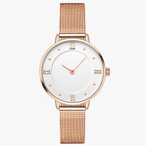 2018 Hot Sale Fashion Mini Top 10 Brands Gold Luxury Wrist Watch Women with Your LOGO