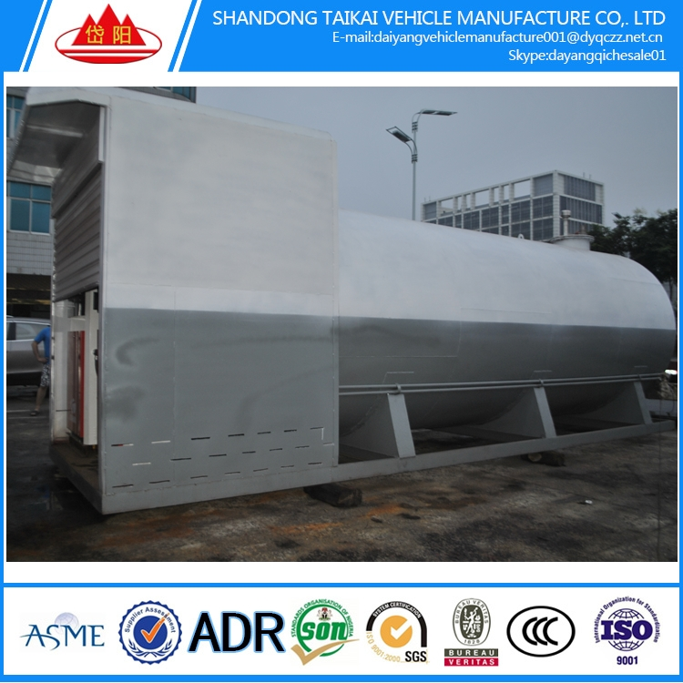 High quality mobile fuel gas station LNG/LPG/CNG