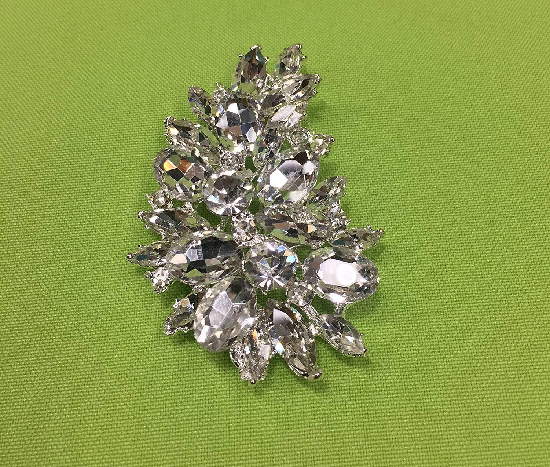 Wedding Brooch,Rhinestone Brooch, Bridal Brooch, crystal brooch for DIY wedding projects, brooch bouquet, bridal sash, invitations