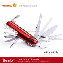 11 multi function swiss style army pocket knife